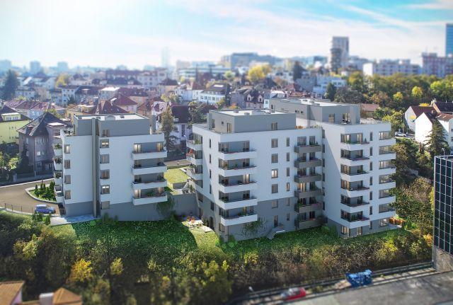 I ve svažitém terénu se dají postavit bytové domy!