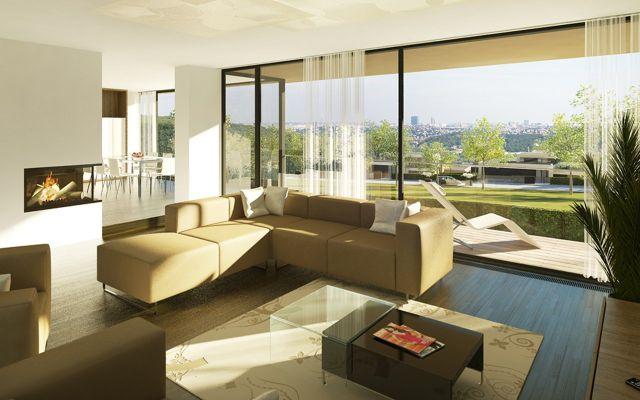 luxusní vily v praze